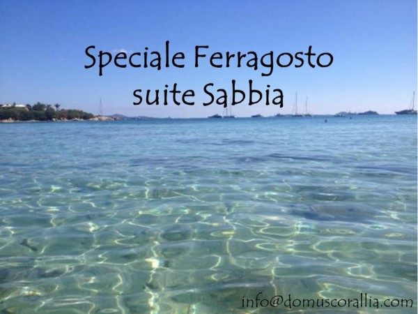 Speciale Ferragosto - 7x6 Sabbia jr. suite