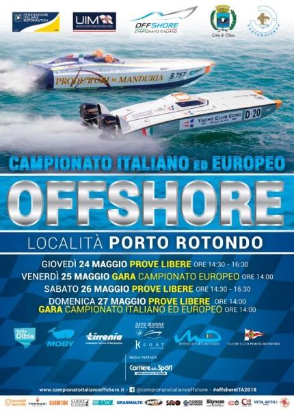 Campionato italiano ed europeo offshore